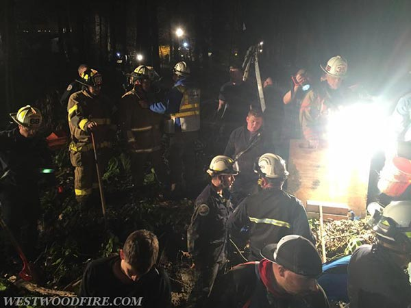 <div class='meta'><div class='origin-logo' data-origin='none'></div><span class='caption-text' data-credit='Fame Fire Company'>Rescue workers freed an injured boy who was stuck waist deep in muddy creek bed outside his Chester County home.</span></div>
