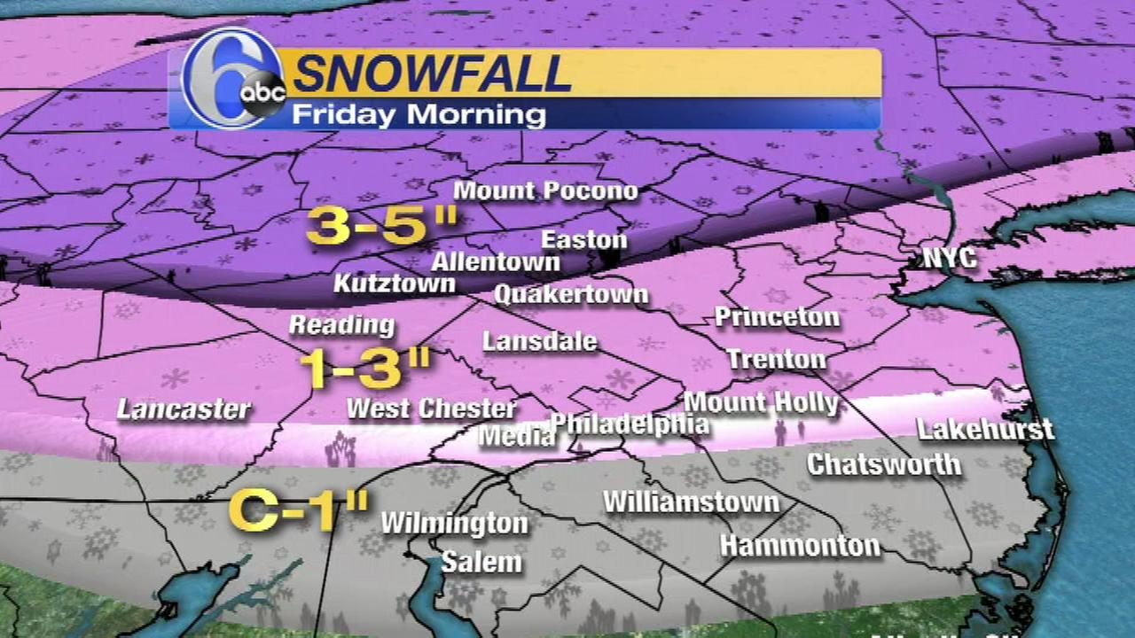 March 10, 2017: AccuWeather and Stormtracker 6 are tracking a winter storm.