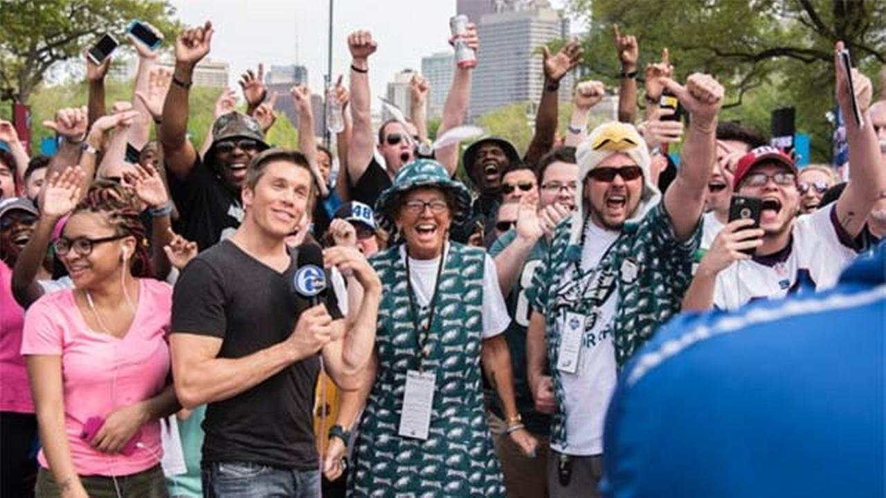 Action News was there for the NFL Draft in Philadelphia on April 27, 2017.