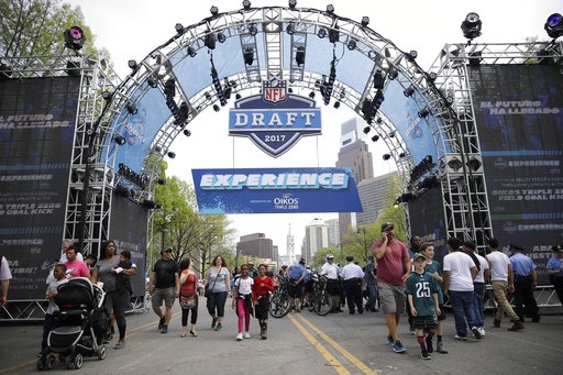Image result for 2017 nfl draft philadelphia