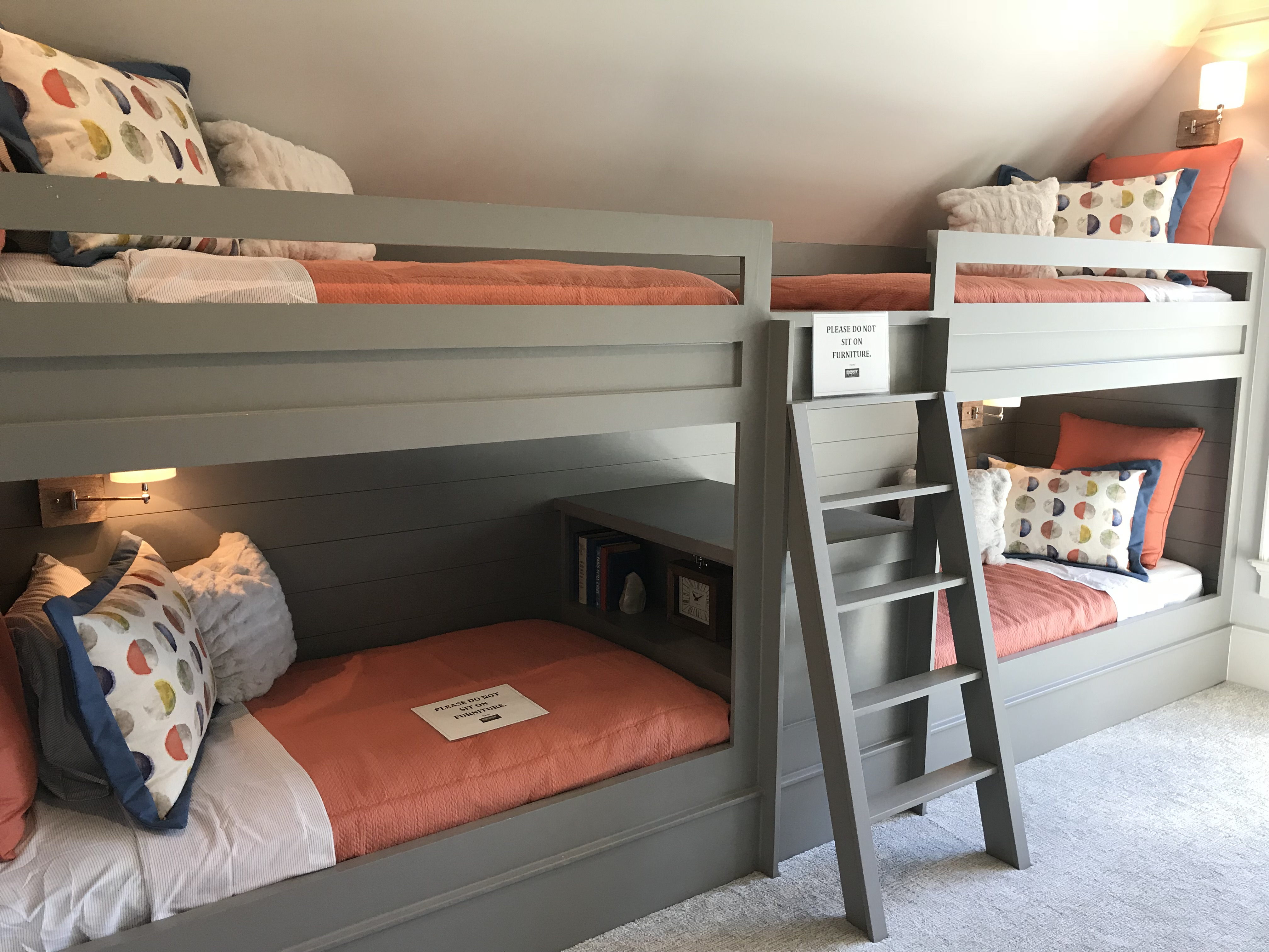 <div class='meta'><div class='origin-logo' data-origin='none'></div><span class='caption-text' data-credit='WTVD Photo/Shawn Replogle'>Custom bunk beds - 5105 Avalaire Oaks Drive, Raleigh, NC - $3.2 million by Bost Custom Homes</span></div>