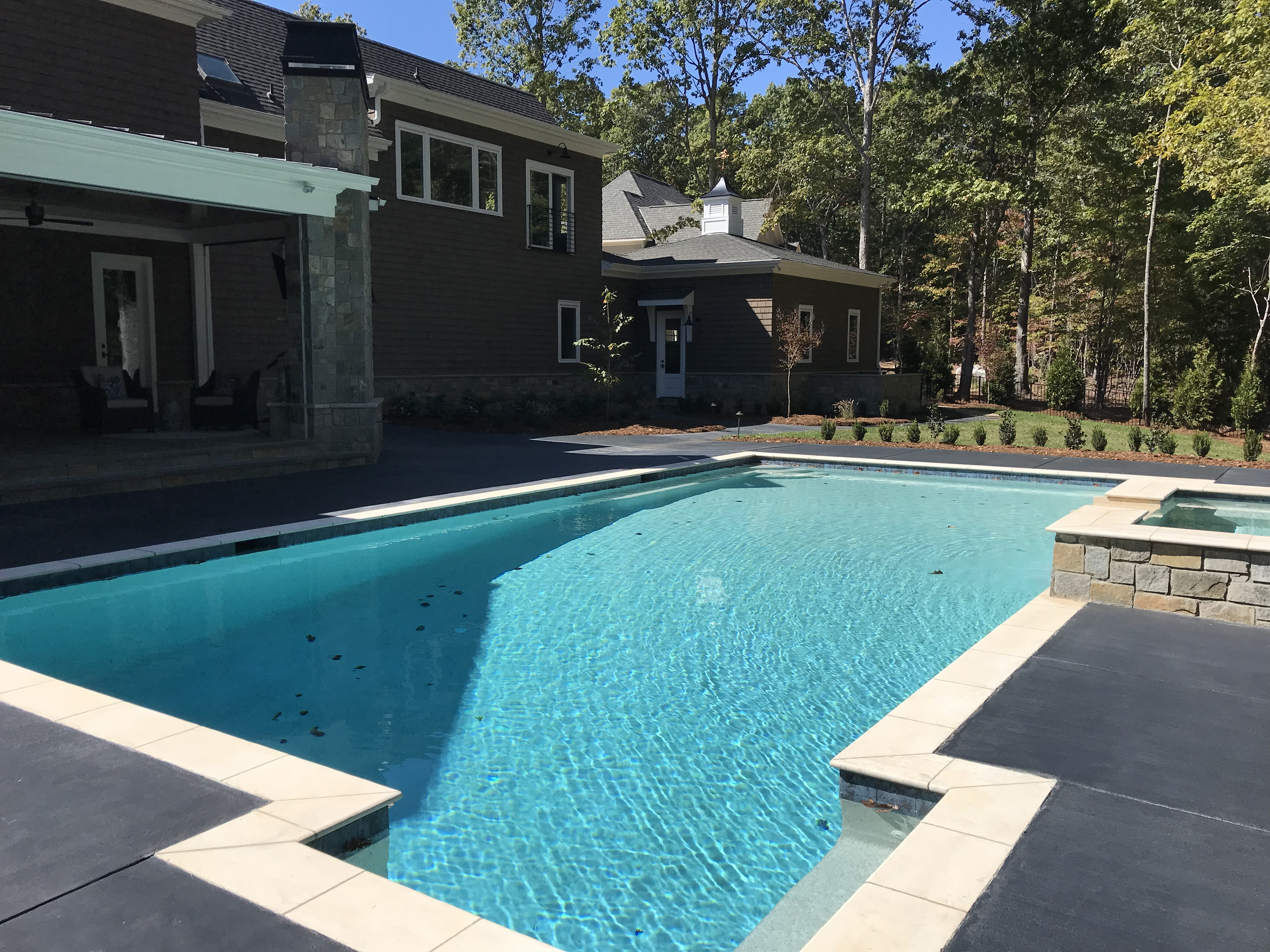 <div class='meta'><div class='origin-logo' data-origin='none'></div><span class='caption-text' data-credit='WTVD photo/Shawn Replogle'>Pool - 5149 Avalaire Oaks, Raleigh, NC - $1.9 million by KJ Construction</span></div>