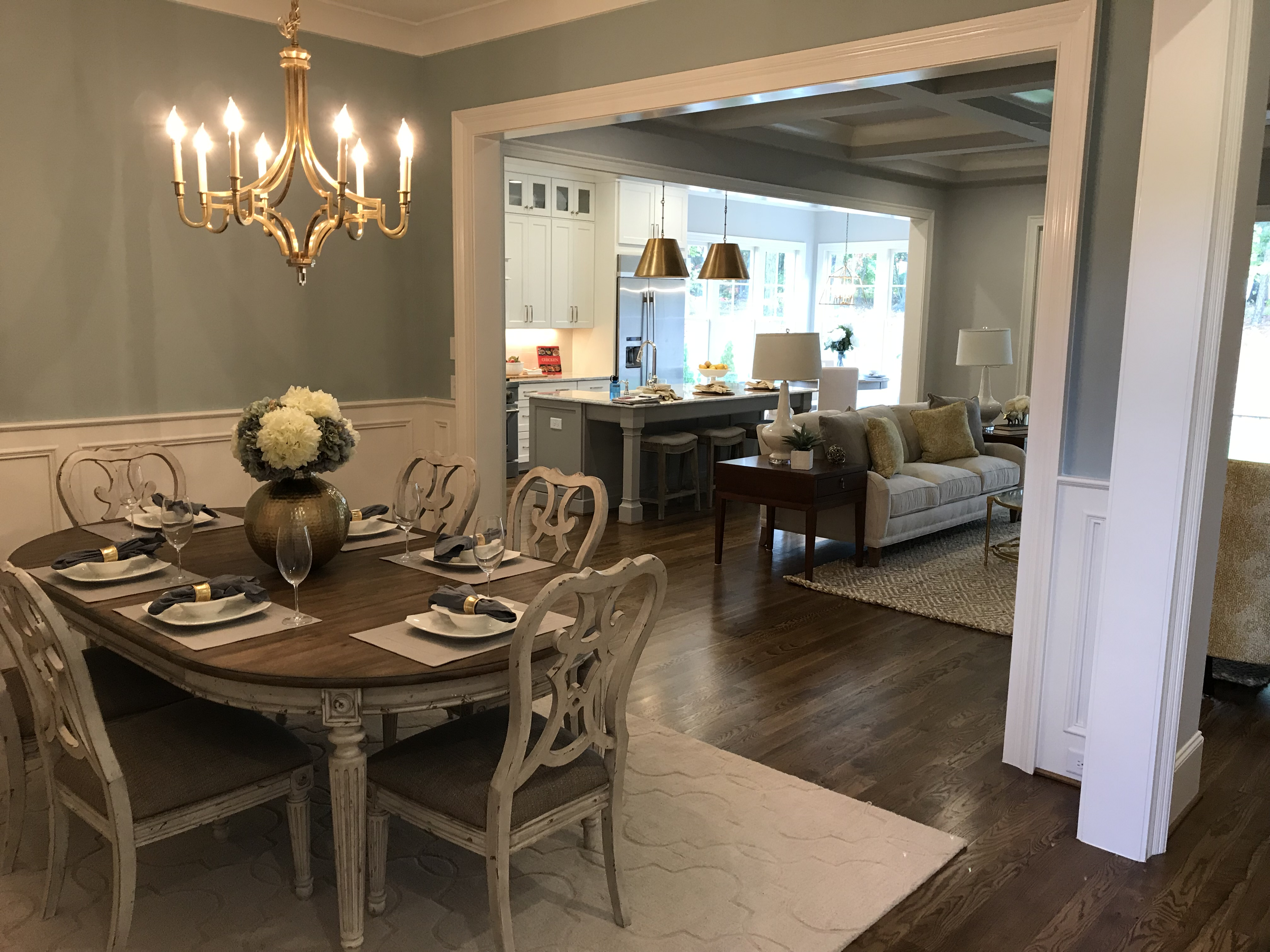 <div class='meta'><div class='origin-logo' data-origin='none'></div><span class='caption-text' data-credit='WTVD photo/Shawn Replogle'>Dining room - 8308 Leyburn Court, Raleigh, NC - $759,000 by Legacy Custom Homes</span></div>