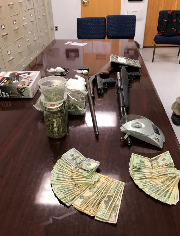 "<div class=""meta image-caption""><div class=""origin-logo origin-image none""><span>none</span></div><span class=""caption-text"">Drugs and weapons seized in Franklin County (image courtesy Franklin County Sheriff's Office)</span></div>"