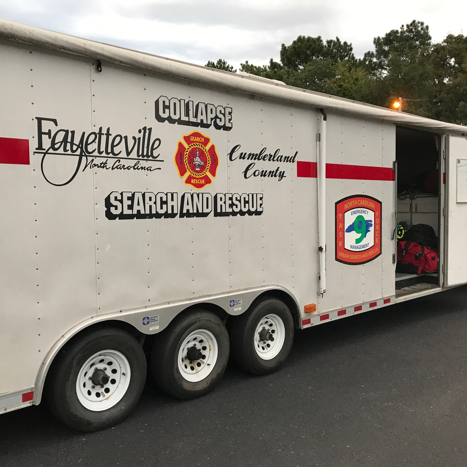 <div class='meta'><div class='origin-logo' data-origin='none'></div><span class='caption-text' data-credit='WTVD photo/Lou Guilette'>Fayetteville swift-water team headed to help Harvey victims</span></div>