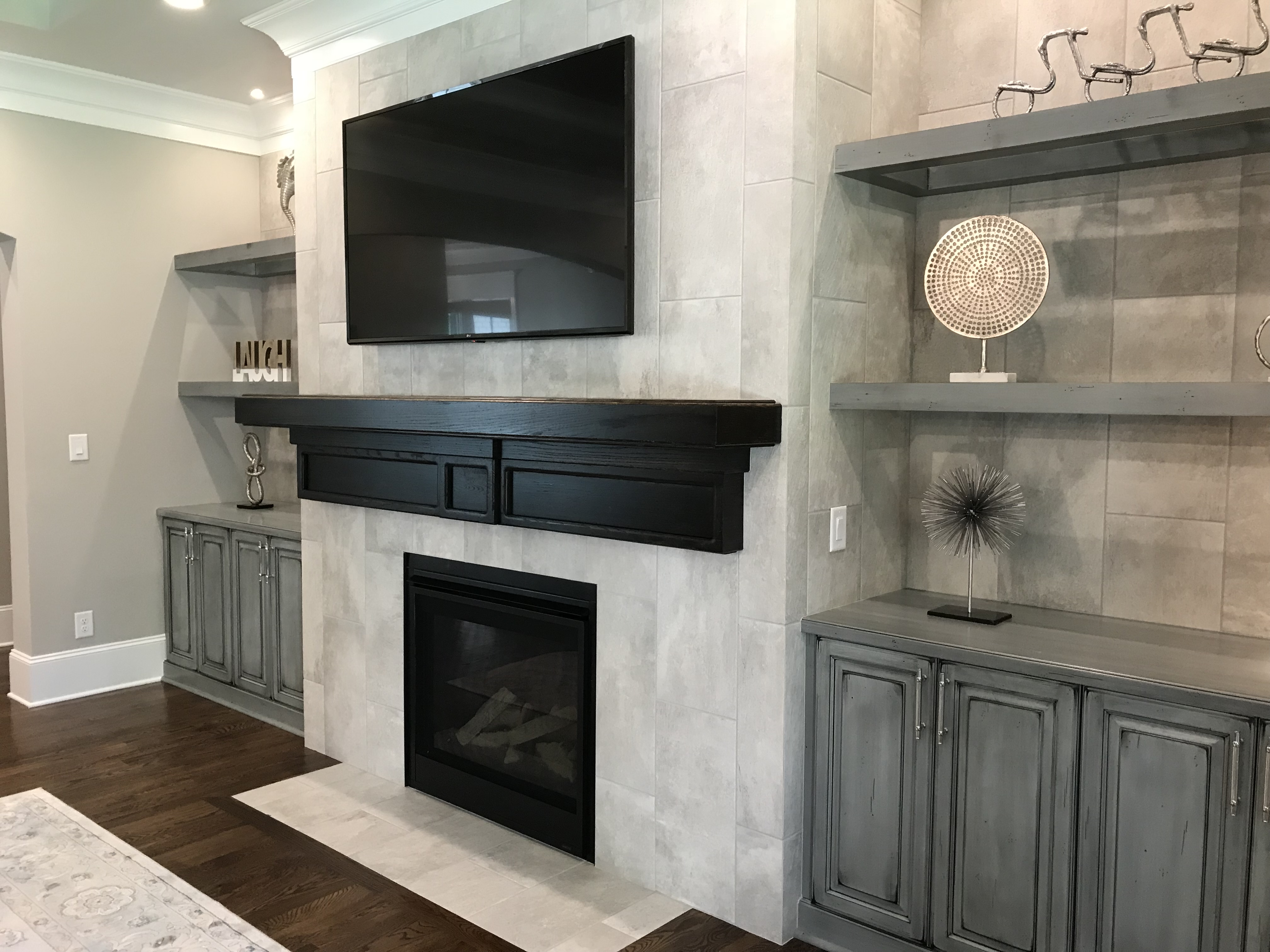 <div class='meta'><div class='origin-logo' data-origin='none'></div><span class='caption-text' data-credit='WTVD photo/Shawn Replogle'>Fireplace - 6506 New Market Way, Raleigh, NC - $1.25 million by Raleigh Custom Homes</span></div>