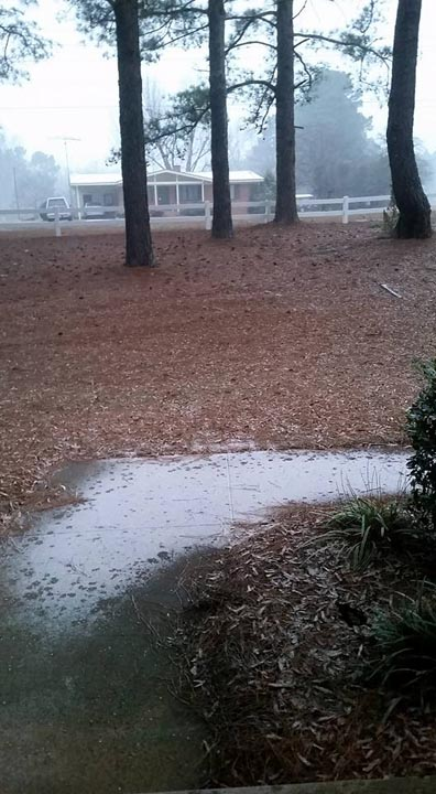 <div class='meta'><div class='origin-logo' data-origin='none'></div><span class='caption-text' data-credit='ABC11 Eyewitness'>Snow in Raeford!</span></div>