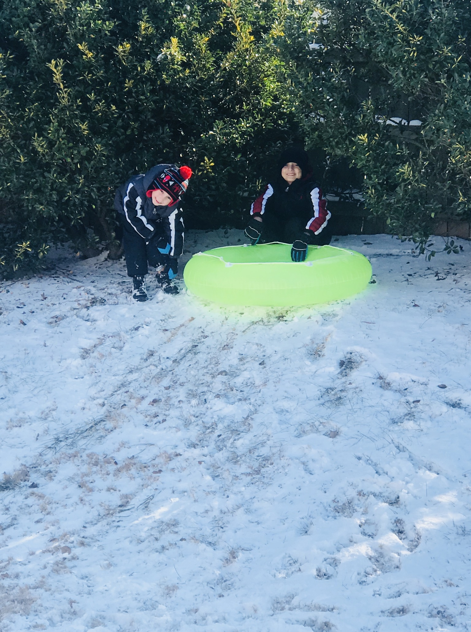 <div class='meta'><div class='origin-logo' data-origin='none'></div><span class='caption-text' data-credit='Heidi Camposano - ABC11 Eyewitness'>Connor and Caden brothers from Clayton enjoying a snow day!</span></div>