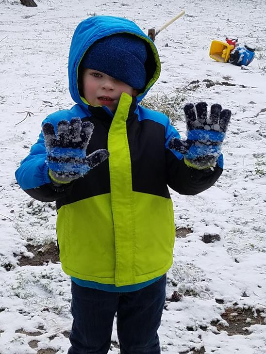 <div class='meta'><div class='origin-logo' data-origin='WTVD'></div><span class='caption-text' data-credit='ABC11 Eyewitness'>Karson has fun in the snow!</span></div>