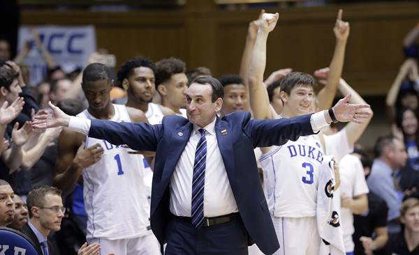 "<div class=""meta image-caption""><div class=""origin-logo origin-image ap""><span>AP</span></div><span class=""caption-text"">Duke coach Mike Krzyzewski called it a great game. (Gerry Broome)</span></div>"