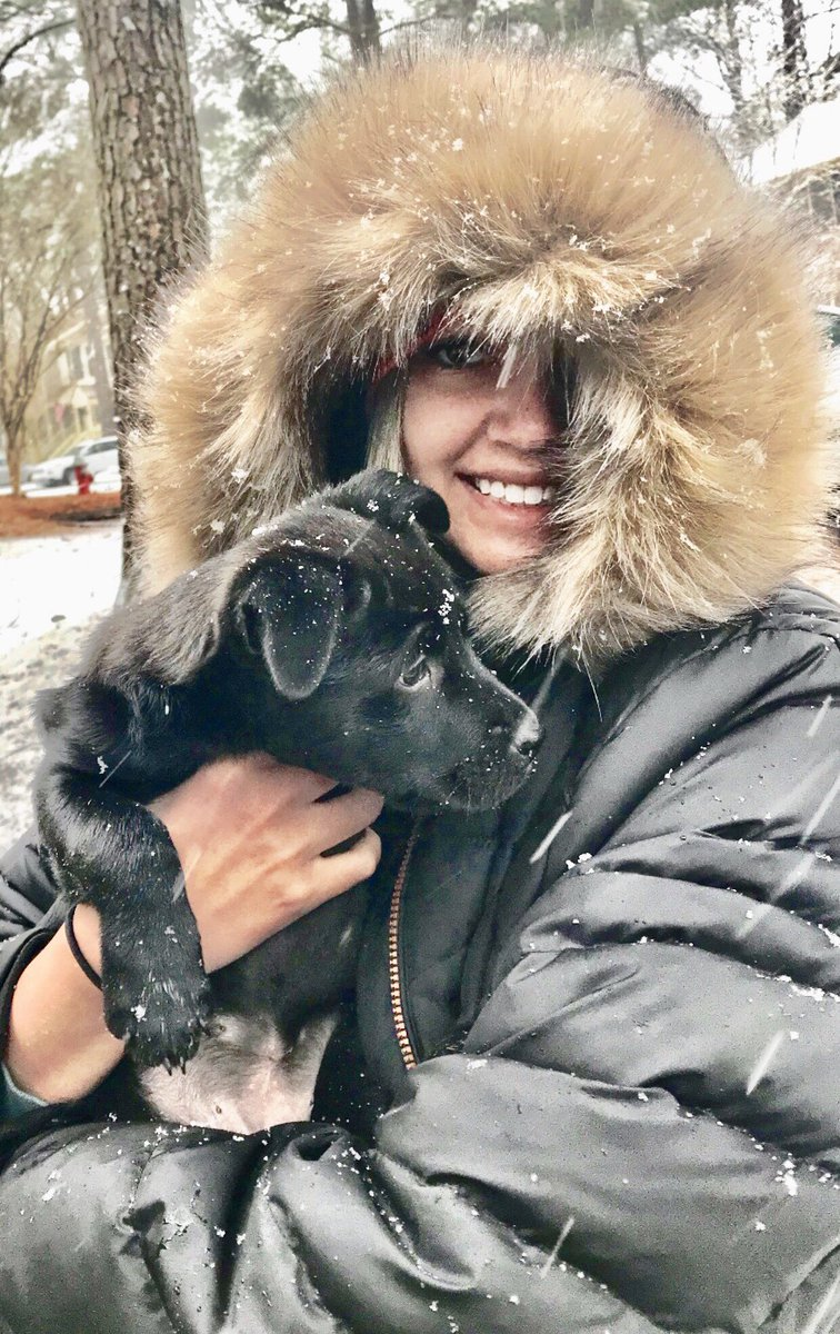 "<div class=""meta image-caption""><div class=""origin-logo origin-image wtvd""><span>WTVD</span></div><span class=""caption-text"">Puppy's first snow in Raleigh! (ABC11 Eyewitness)</span></div>"