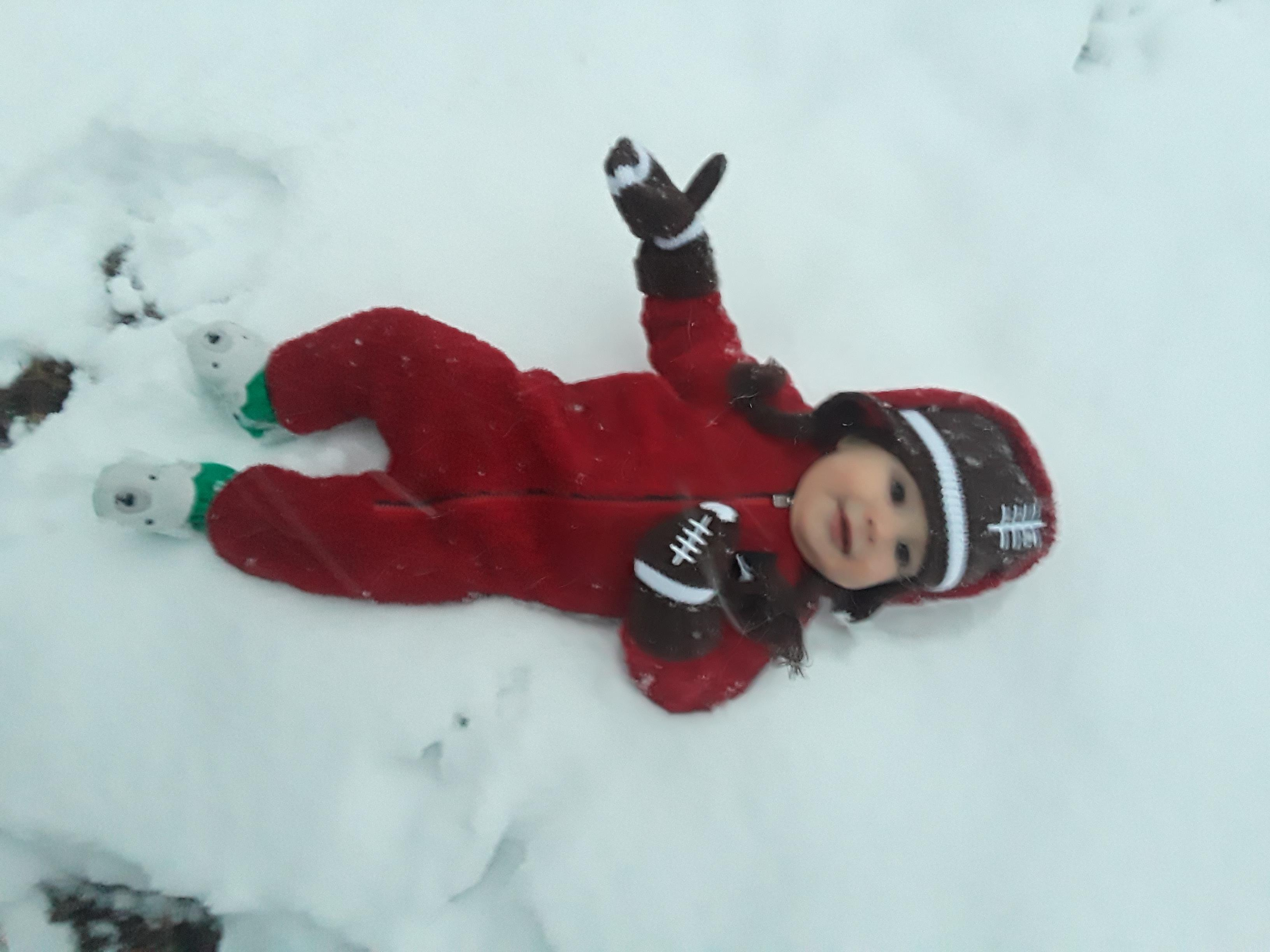 "<div class=""meta image-caption""><div class=""origin-logo origin-image wtvd""><span>WTVD</span></div><span class=""caption-text"">What a cute baby in Wendell! His first snow! (ABC11 Eyewitness)</span></div>"