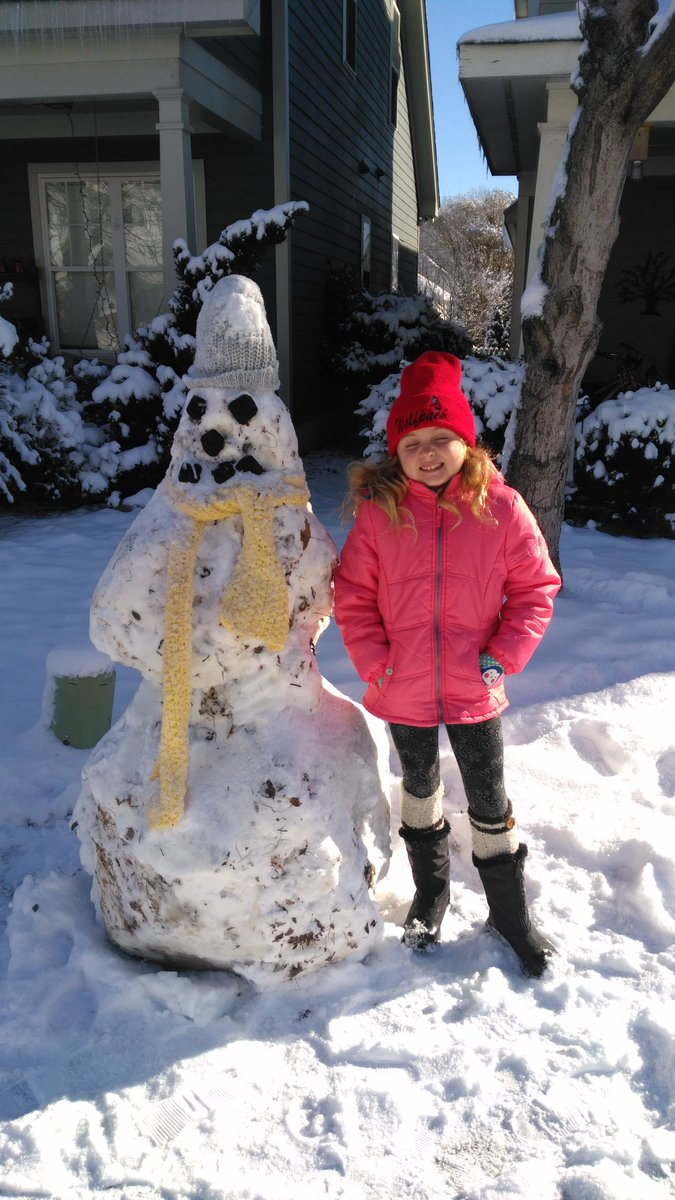 "<div class=""meta image-caption""><div class=""origin-logo origin-image wtvd""><span>WTVD</span></div><span class=""caption-text"">Double Stuff the Snowman is going to be around for a while! (tymkinmama - ABC11 Eyewitness)</span></div>"
