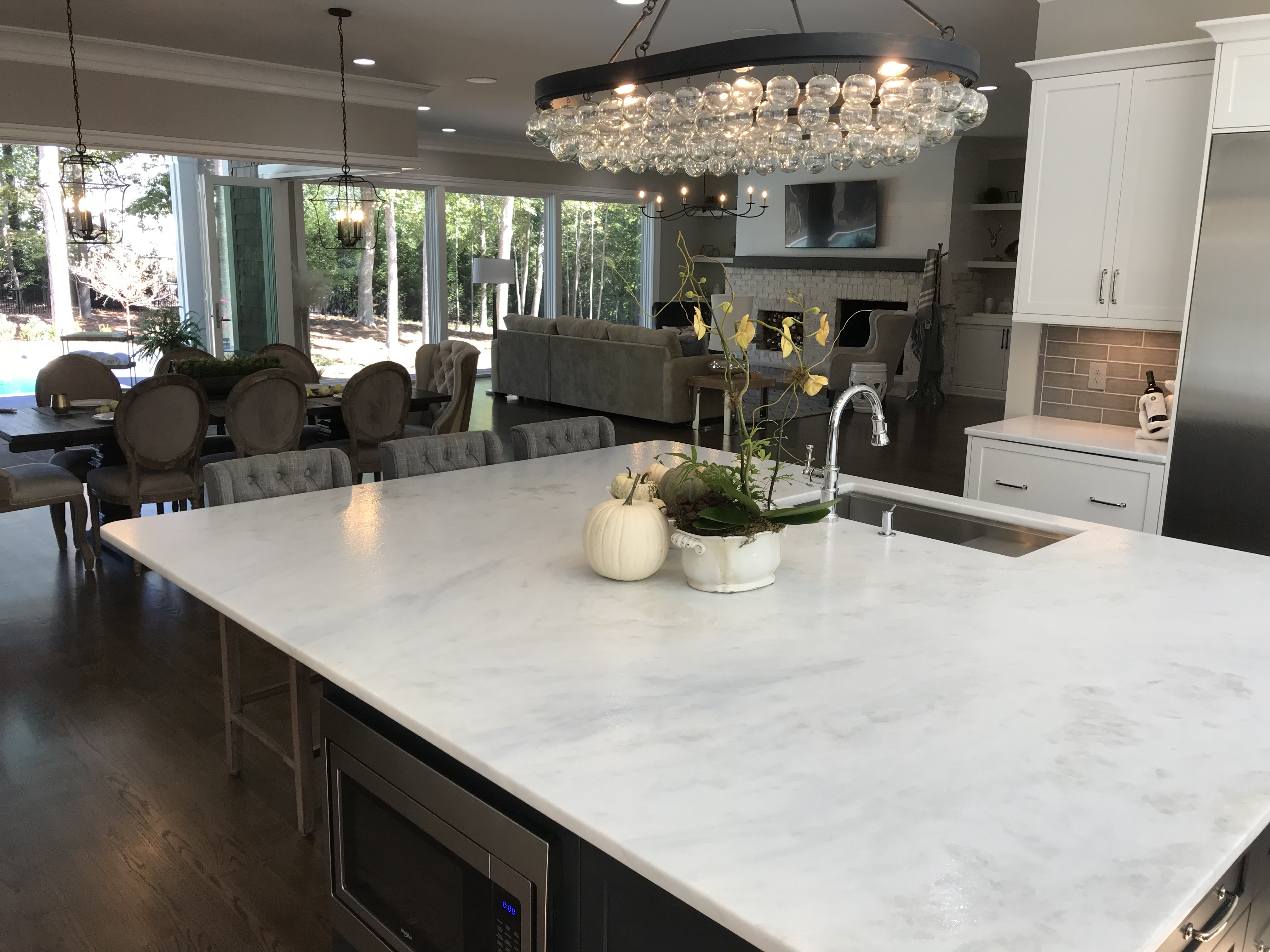 <div class='meta'><div class='origin-logo' data-origin='none'></div><span class='caption-text' data-credit='WTVD photo/Shawn Replogle'>Kitchen - 5149 Avalaire Oaks, Raleigh, NC - $1.9 million by KJ Construction</span></div>