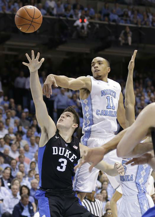 "<div class=""meta image-caption""><div class=""origin-logo origin-image none""><span>none</span></div><span class=""caption-text"">North Carolina's Brice Johnson (11) defends as Duke's Grayson Allen (3) drives to the basket. (Gerry Broome/AP)</span></div>"