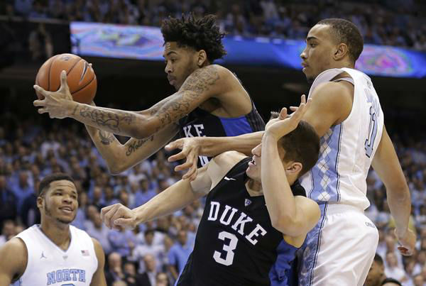 "<div class=""meta image-caption""><div class=""origin-logo origin-image none""><span>none</span></div><span class=""caption-text"">Duke's Brandon Ingram finished with 20 points and 10 rebounds. (Gerry Broome/AP)</span></div>"