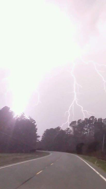 <div class='meta'><div class='origin-logo' data-origin='none'></div><span class='caption-text' data-credit='ABC11 Eyewitness/_MsUnPERFECT_'>Lightning at the Wayne County/Sampson County line</span></div>