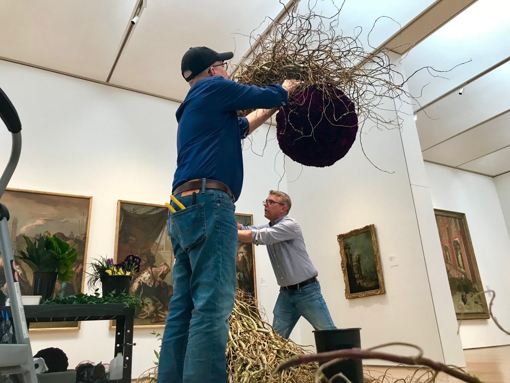 <div class='meta'><div class='origin-logo' data-origin='WTVD'></div><span class='caption-text' data-credit=''>Floral festival coming in bloom at NC Museum of Art</span></div>