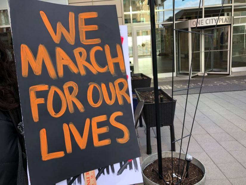 <div class='meta'><div class='origin-logo' data-origin='WTVD'></div><span class='caption-text' data-credit='Anthony Wilson'>NC students gather in downtown Raleigh for March for Our Lives.</span></div>