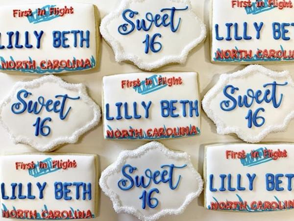 <div class='meta'><div class='origin-logo' data-origin='WTVD'></div><span class='caption-text' data-credit=''>Southern Sugar Bakery makes about 100 customized cookies a week</span></div>