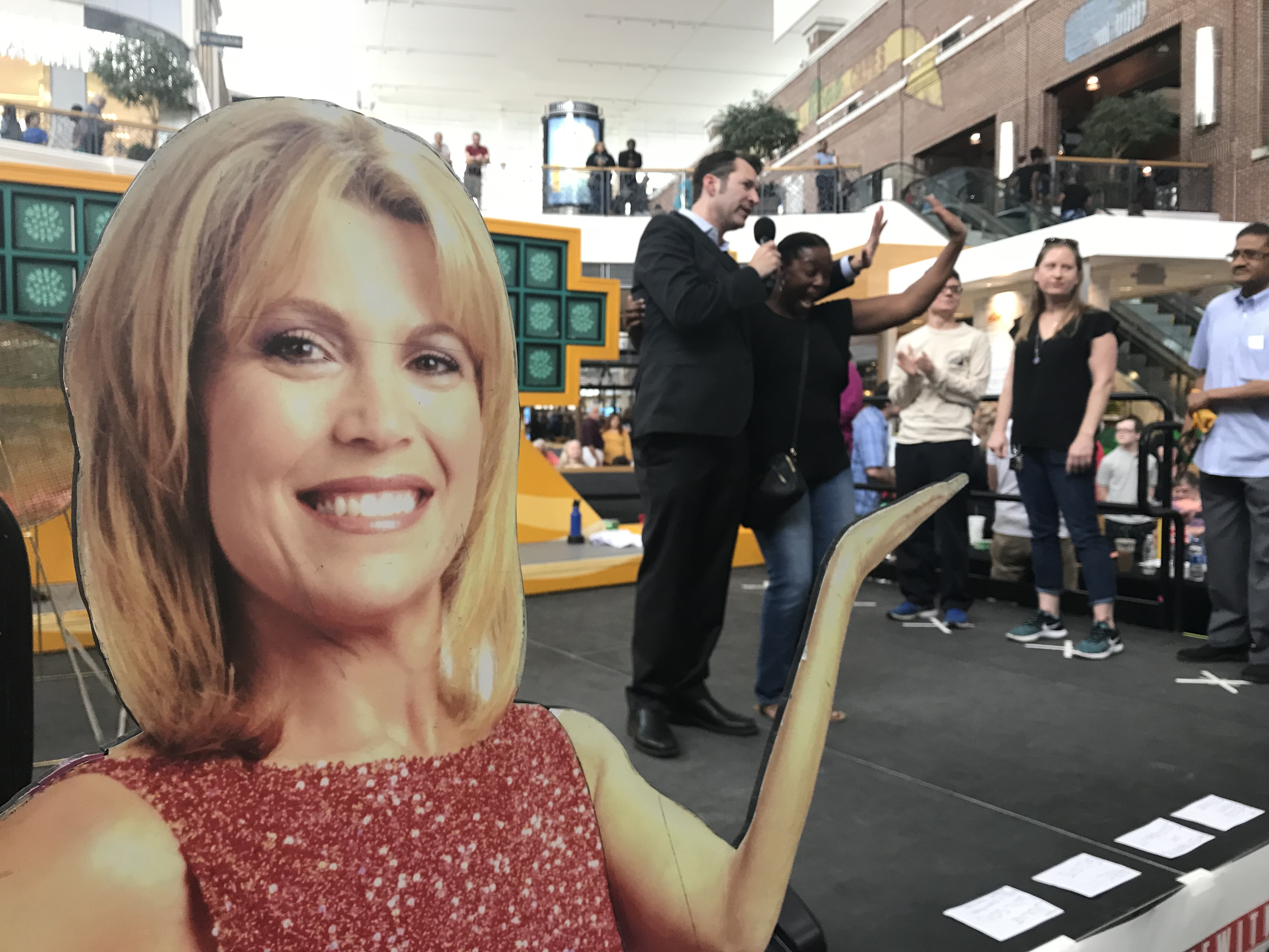 <div class='meta'><div class='origin-logo' data-origin='WTVD'></div><span class='caption-text' data-credit='Julie Wilson'>Wheel of Fortune at The Streets at Southpoint in Durham Sunday</span></div>