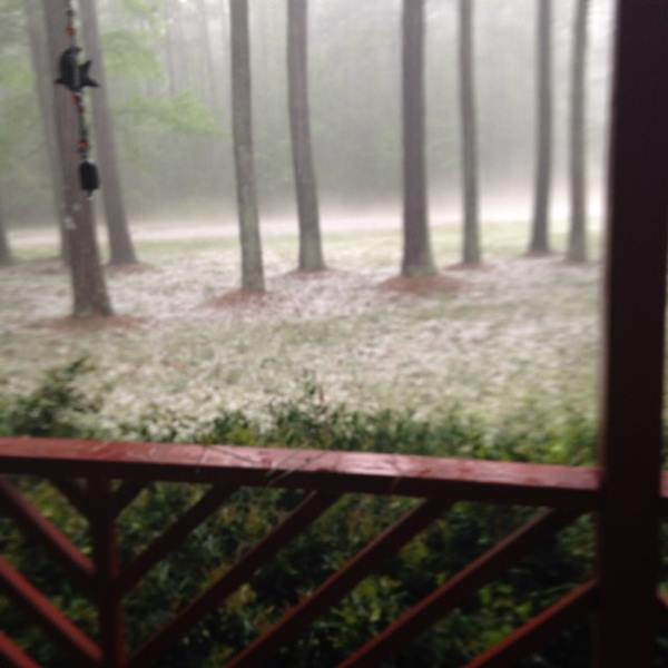 <div class='meta'><div class='origin-logo' data-origin='WTVD'></div><span class='caption-text' data-credit='ABC11 Eyewitness'>In Dobson. Severe storms brought hail, winds to Central North Carolina on Thursday, April 28.</span></div>
