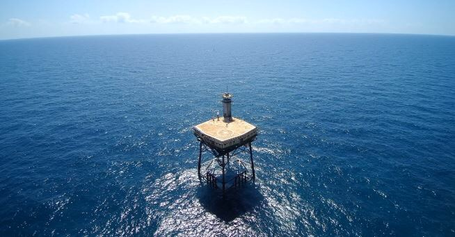 <div class='meta'><div class='origin-logo' data-origin='WTVD'></div><span class='caption-text' data-credit=''>It's so secluded in the middle of the ocean that the only way to get there is by helicopter or boat.</span></div>