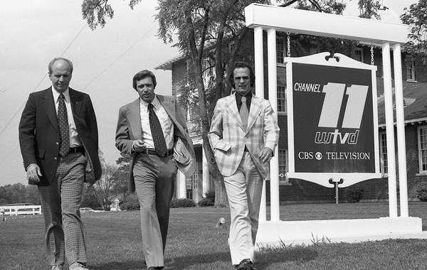 <div class='meta'><div class='origin-logo' data-origin='none'></div><span class='caption-text' data-credit='WTVD Photo'>Weatherman Skip Carpenter, news director/anchor Alan Jones, and sports anchor Don Shea ca. 1975</span></div>