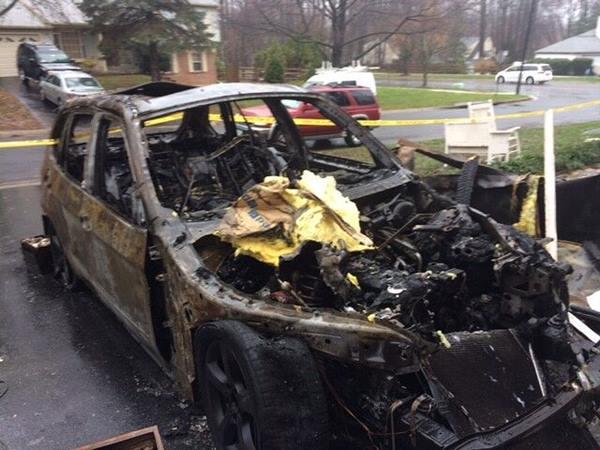 <div class='meta'><div class='origin-logo' data-origin='none'></div><span class='caption-text' data-credit='Credit: Bill Macko'>Bill Macko's BMW caught fire in his driveway</span></div>