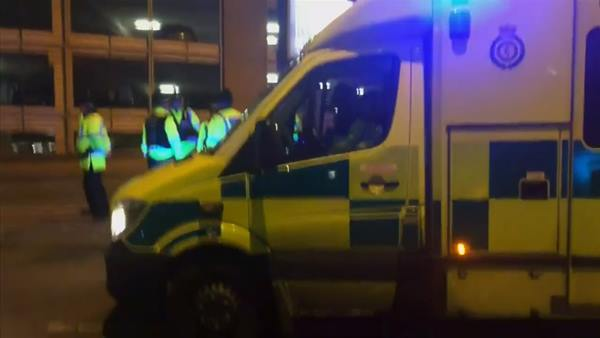 <div class='meta'><div class='origin-logo' data-origin='ABCNews'></div><span class='caption-text' data-credit=''>Police at the scene of the deadly incident in Manchester on Monday.</span></div>