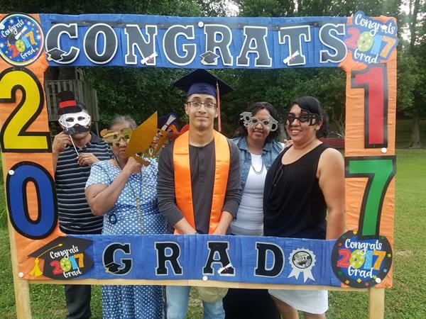 "<div class=""meta image-caption""><div class=""origin-logo origin-image none""><span>none</span></div><span class=""caption-text"">My son graduated Friday night from Southern Lee High School. (Flor-Daisy Netanya)</span></div>"