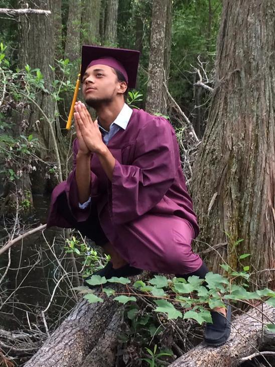 "<div class=""meta image-caption""><div class=""origin-logo origin-image none""><span>none</span></div><span class=""caption-text"">My son, Shawn Logan graduated from Lumberton Senior High School, very proud of him! (Sue Hunt Oxendine)</span></div>"