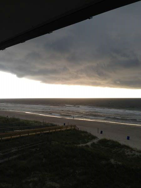 Carolina Beach as Arthur came in <span class=meta>ABC11 iWitness / Lauren</span>