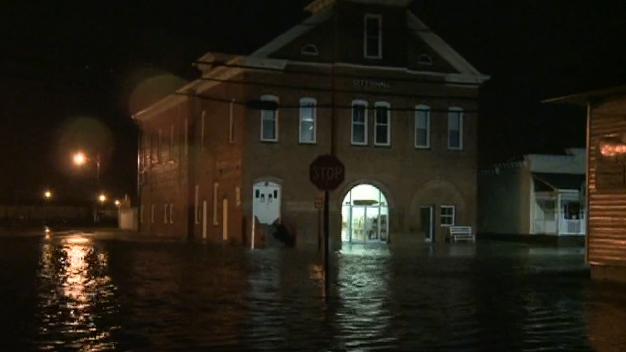 Flooding in Belhaven, NC from Hurricane Arthur <span class=meta>(ABC11 Photo)</span>