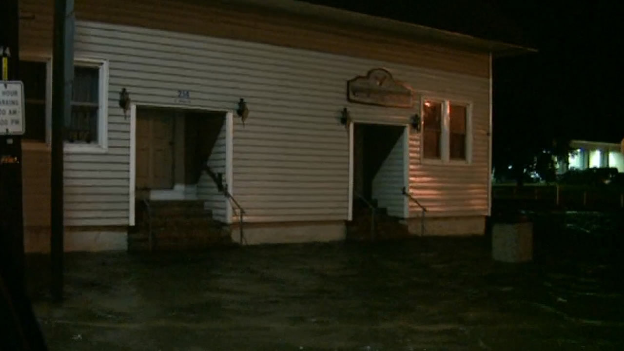 Flooding in Belhaven, NC from Hurricane Arthur <span class=meta>ABC11 Photo</span>