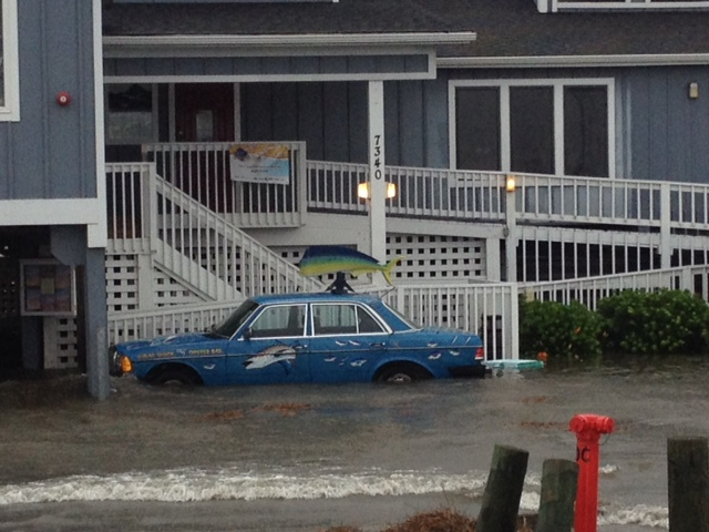 <div class='meta'><div class='origin-logo' data-origin='none'></div><span class='caption-text' data-credit='ABC11 Photo/Tommy Harris'>Sound-side flooding at Nags Head</span></div>