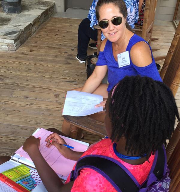 <div class='meta'><div class='origin-logo' data-origin='none'></div><span class='caption-text' data-credit=''>Images from the Girl Scouts Summer Leadership Camp.</span></div>
