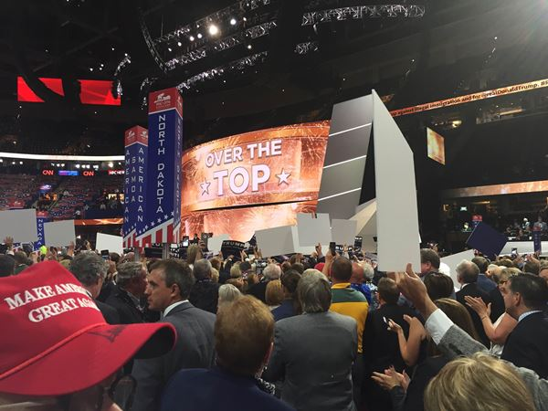 <div class='meta'><div class='origin-logo' data-origin='WTVD'></div><span class='caption-text' data-credit=''>Photos from day 2 of the Republican National Convention in Cleveland</span></div>