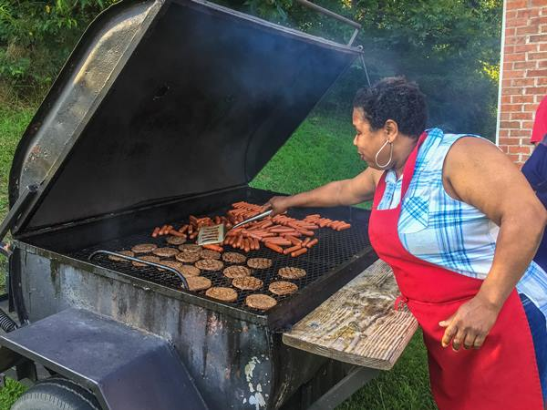 <div class='meta'><div class='origin-logo' data-origin='WTVD'></div><span class='caption-text' data-credit=''>Roxboro clergy, community, and police come together for a cookout</span></div>