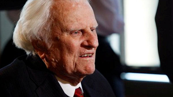 <div class='meta'><div class='origin-logo' data-origin='AP'></div><span class='caption-text' data-credit=''>In this Dec. 20, 2010 file photo, evangelist Billy Graham speaks to the media at the Billy Graham Evangelistic Association headquarters in Charlotte, N.C.</span></div>