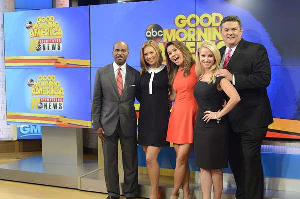 ABC11 morning team visits set of Good Morning America | abc11.com