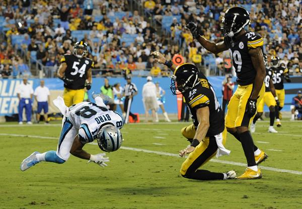 "<div class=""meta image-caption""><div class=""origin-logo origin-image ap""><span>AP</span></div><span class=""caption-text"">Damiere Byrd finished with two catches for 21 yards and a touchdown. This play was initially ruled a TD but he was ruled down by contact after a replay review. (Mike McCarn)</span></div>"