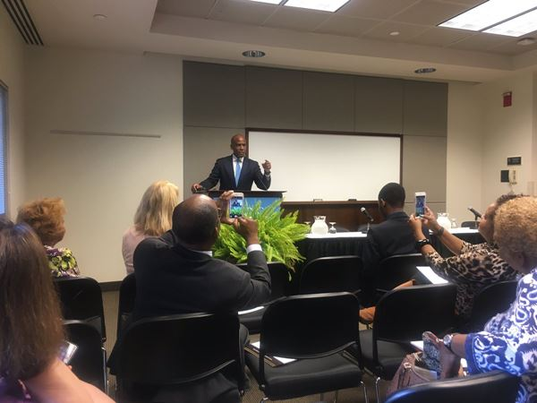 <div class='meta'><div class='origin-logo' data-origin='none'></div><span class='caption-text' data-credit='ABC11 Eyewitness'>Photos from the Minority Advisory Committee annual event at the Friday Center at UNC Chapel Hill</span></div>