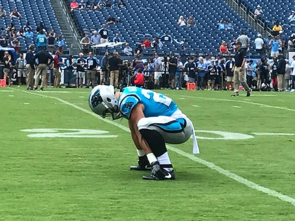 "<div class=""meta image-caption""><div class=""origin-logo origin-image wtvd""><span>WTVD</span></div><span class=""caption-text"">Christian McCaffrey showed flashes of his first-round talent in the loss to the Titans. (Charlie Mickens)</span></div>"