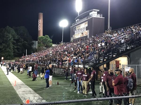 "<div class=""meta image-caption""><div class=""origin-logo origin-image wtvd""><span>WTVD</span></div><span class=""caption-text"">Scenes from North Carolina Central's big 33-28 comeback win Thursday night against South Carolina State. (Charlie Mickens)</span></div>"
