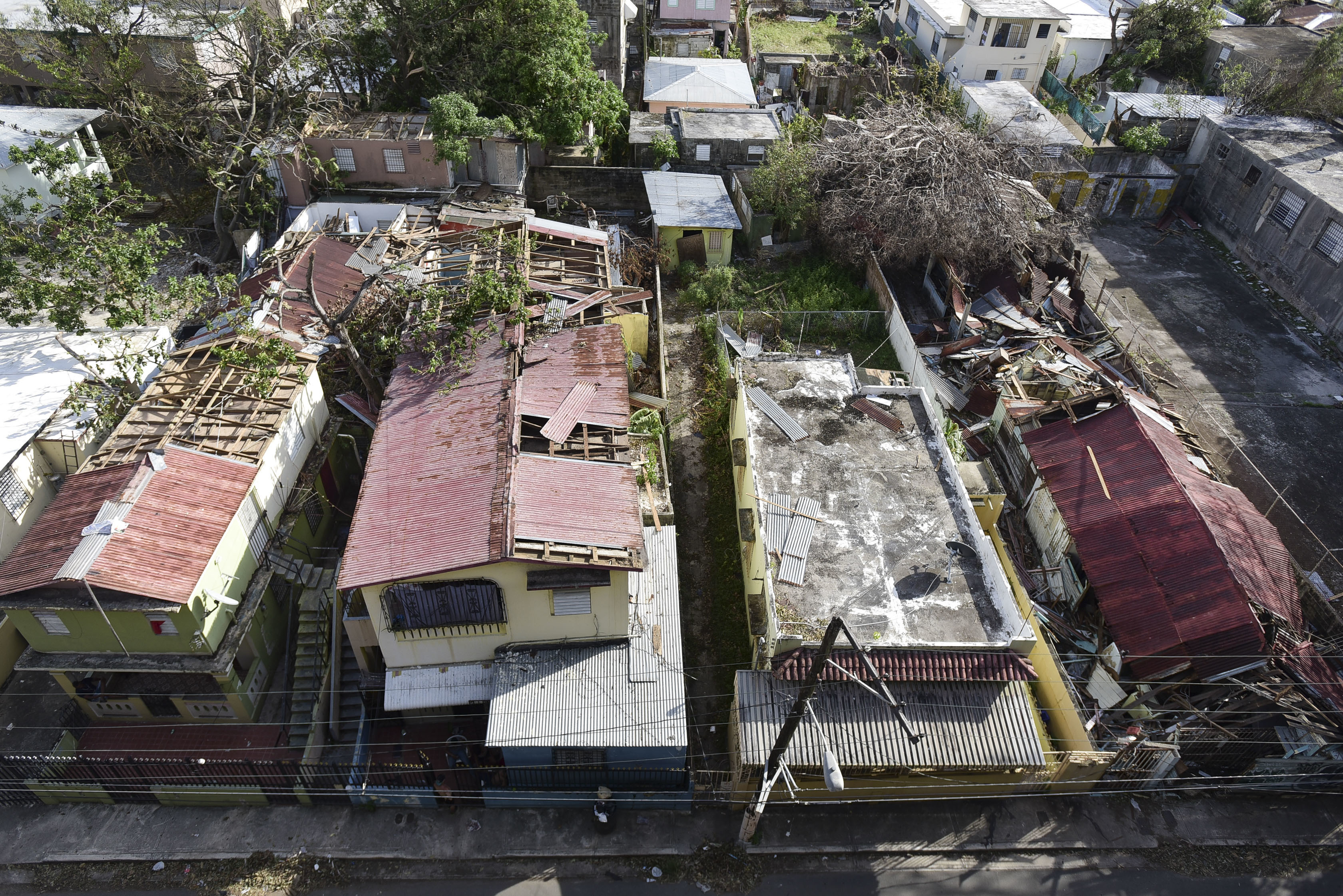<div class='meta'><div class='origin-logo' data-origin='AP'></div><span class='caption-text' data-credit='AP Photo/Carlos Giusti'>Hurricane Maria hit Puerto Rico, leaving behind devastation and more than 1 million without power</span></div>