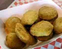"<div class=""meta image-caption""><div class=""origin-logo origin-image none""><span>none</span></div><span class=""caption-text"">Deep Fried Bacon and Cheese Collard Bites. Served by Woody's Grill (Credit: NC State Fair)</span></div>"