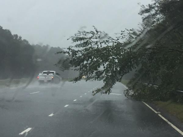 <div class='meta'><div class='origin-logo' data-origin='none'></div><span class='caption-text' data-credit=''>ABC11 Eyewitness photo - Highway 87 S</span></div>
