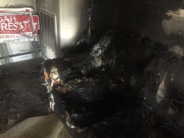 <div class='meta'><div class='origin-logo' data-origin='none'></div><span class='caption-text' data-credit=''>Photos of the vandalism and burning at the Republican Party headquarters in Hillsborough</span></div>