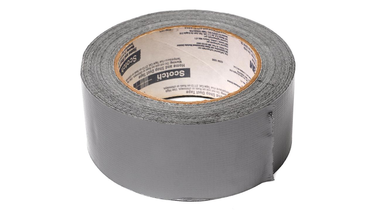Stock photo of a roll of duct tape
